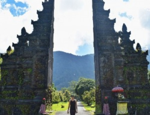 Dónde tomar esta popular foto en Bali